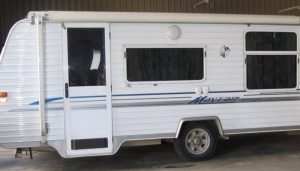 Caravans and Motorhome Tinting