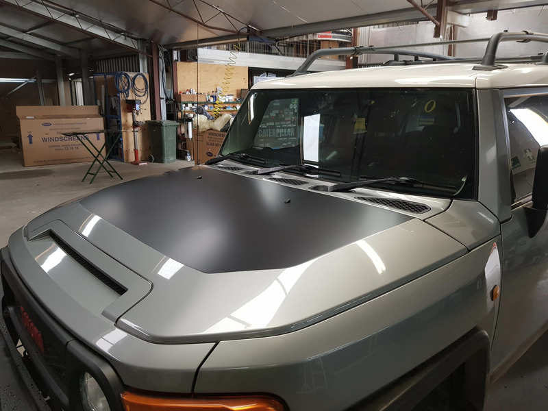 FJ Cruiser Vehicle Wrap
