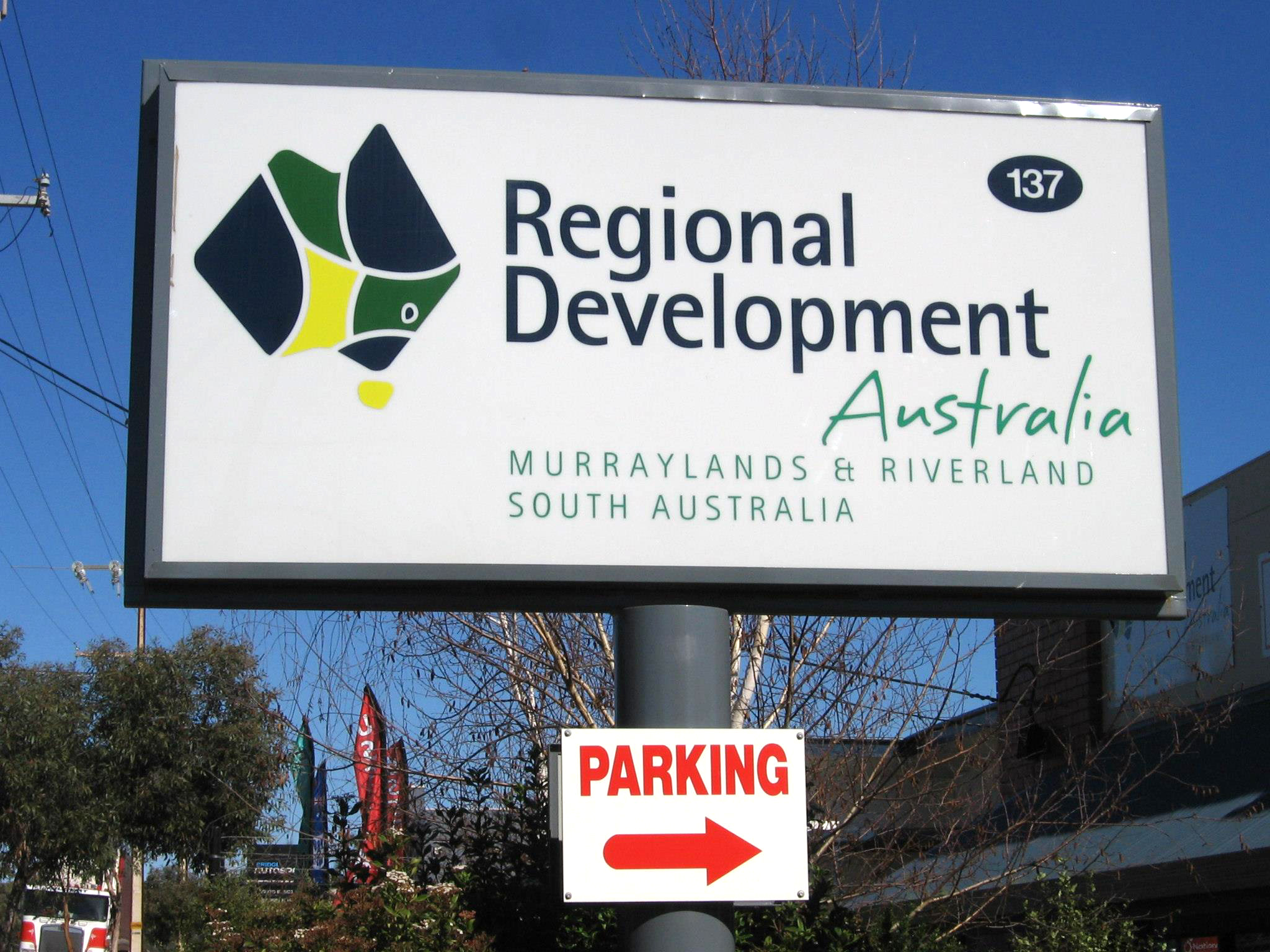 Regional Development Australia Acrylic Sign