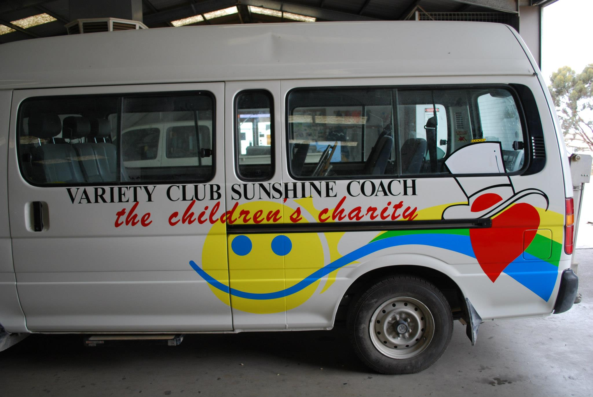 Variety Club Sunshine Coach
