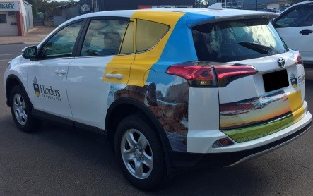 partial vehicle wrap