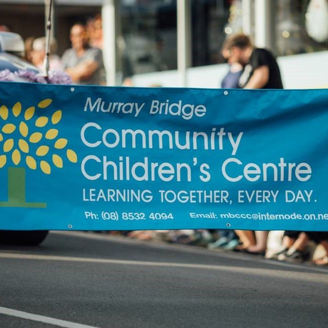 Murray Bridge Community Children's Centre Banner